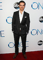HOLLYWOOD, LOS ANGELES, CA, USA - SEPTEMBER 21: Colin O'Donoghue arrives at the Los Angeles Screening Of ABC's 'Once Upon A Time' Season 4 held at the El Capitan Theatre on September 21, 2014 in Hollywood, Los Angeles, California, United States. (Photo by Celebrity Monitor)
