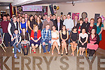 Denise Kelly from Tullig, Cahersiveen seated front centre celebrated her 21st birthday with family and friends in the Shebeen Bar Cahersiveen on Saturday night last.