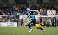 Stephen McGinn of Wycombe Wanderers in action during the Sky Bet League 2 match between Wycombe Wanderers and Bristol Rovers at Adams Park, High Wycombe, England on 27 February 2016. Photo by Andy Rowland.