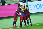 FC Barcelona team group, <br /> DECEMBER 20, 2015 - Football / Soccer : <br /> FIFA Club World Cup Japan 2015 <br /> Final match <br /> between River Plate - FC Barcelona <br /> at Yokohama International Stadium in Kanagawa, Japan. <br /> (Photo by YUTAKA/AFLO SPORT)