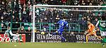 08.08.2019 Hibs v Rangers: Florian Kamberi scores