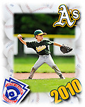 22 May 2010: Action Photos of the Burlington American Little League Athletics at Calahan Park in Burlington, Vermont. Mandatory Credit: Ed Wolfstein Photo