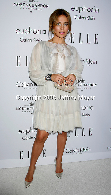 BEVERLY HILLS, CA. - October 06: Actress Jennifer Lopez arrives at ELLE Magazine's 15th Annual Women in Hollywood Event at The Four Seasons Hotel on October 6, 2008 in Beverly Hills, California.