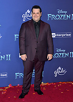 "LOS ANGELES, USA. November 08, 2019: Josh Gad at the world premiere for Disney's ""Frozen 2"" at the Dolby Theatre.<br /> Picture: Paul Smith/Featureflash"