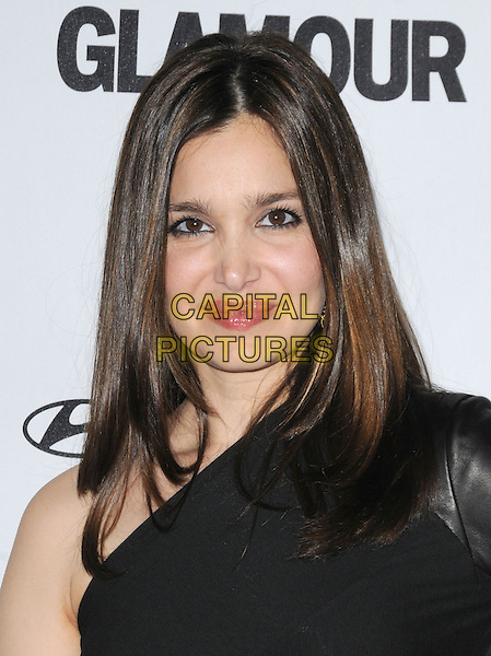 GINA PHILIPS .at The Glamour Reel Moments Presented by Hyundai , the Series of Short Films Written and Directed by Women in Hollywood held at The Directors Guild of America in West Hollywood, California, USA, .October 25th 2010..portrait headshot  black one shoulder .CAP/RKE/DVS.©DVS/RockinExposures/Capital Pictures.