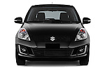 Car photography straight front view of a 2013 Suzuki SWIFT Grand Luxe @ttraction 5 Door Hatchback 2WD Front View