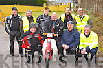 Revving it up at the start of the Honda 50 Slea Head run in Killarney on Sunday morning was Front row l-r: Tim Herlihy, Noel Brosnan, Pat O'Shea. Back row: Joe Donnelly, Danny O'Connor, Jonathan O'Brien, Eddie Byrne, Paudie Fitzgerald and Jim Griffin ..
