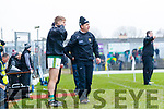 Kerry Manager Peter Keane  Kerry v Tyrone during the Allianz Football League Division 1 Round 1 match between Kerry and Tyrone at Fitzgerald Stadium, Killarney on Sunday.