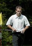 ARNHEM - Perry Gruber.   Voorjaarswedstrijden Golf heren op de Rosendaelsche Golfclub COPYRIGHT KOEN SUYK