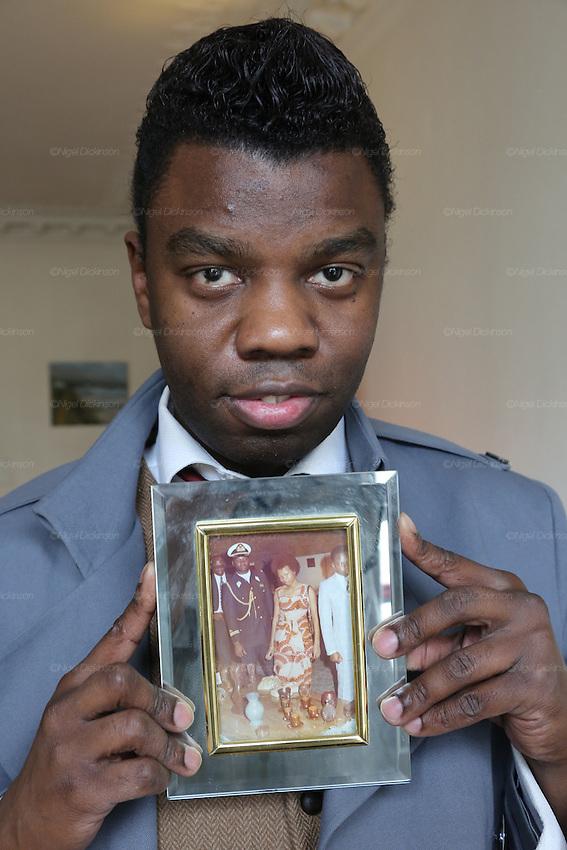 Jean Barthelemy Bokassa Grandson Of The Emperor Jean Bedel