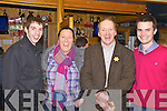 A Great Night at the Races in aid of Colaiste na Sceilge which wa hels at The Ring of Kerry Hotel on Friday night last pictured l-r; Thomas Kennedy, Mary Golden, John O'Connor(Principal CnaS) & Shane O'Neill.