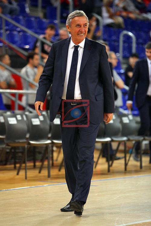 League ACB-ENDESA 201/2019.Game 38.<br /> PlayOff Semifinals.1st match.<br /> FC Barcelona Lassa vs Tecnyconta Zaragoza: 101-59.<br /> Svetislav Pesic.