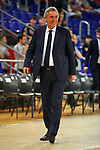 League ACB-ENDESA 201/2019.Game 38.<br /> PlayOff Semifinals.1st match.<br /> FC Barcelona Lassa vs Tecnyconta Zaragoza: 101-59.<br /> Svetislav Pesic.