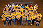 December 16, 2015- Tuscola, IL- The 2015-2016 TCHS Pep Band. Front row from left are Rosalee Miller, Hannah Magee, Emma Sementi, Alex Wilson, Jacob Rominger, Elizabeth Brewer, Mariah Lemay, and Joel Middleton. Second row from left are Grace Snider, Sydney Hoel, Alexis Nau, Chase Robinson, Drew Reinhart, Ashley Mattingly, Caroline Rominger, and Emily Kemp. Third row from left are Isabel Miller, Hannah Saril, Bailey Good, Rachel Mannen, Jacob Craddock, Katie Smith, Ashton Smith, and Bridget Spillman. Fourth row from left Morgan Harris, Connor Baer, Dylan Couch, Josh Haste, Paul Nau, Sabrina Alcorn, Anna Spillman, and Raymond Kerkhoff. Back row from left are Chieley Geiler, Trent Ponder, David Spillman, Bryce Simpson, Maddy Orchard, and Ariel Warren. [Photo: Douglas Cottle]