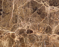 Close up of veined marble.