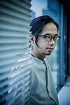 Tokyo, June 16 2012 - Portrait of Japanese musician Masafumi Gotoh, singer and composer for Asian Kung-Fu Generation