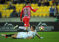 161008 A-League Football - Wellington Phoenix v Melbourne City FC