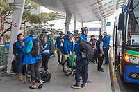 Home / Team depart from Seoul airport<br /> PyeongChang 2018 Paralympic Games<br /> Australian Paralympic Committee<br /> Sydney International Airport<br /> PyeongChang South Korea<br /> Tuesday March 20th 2018<br /> © Sport the library / Jeff Crow