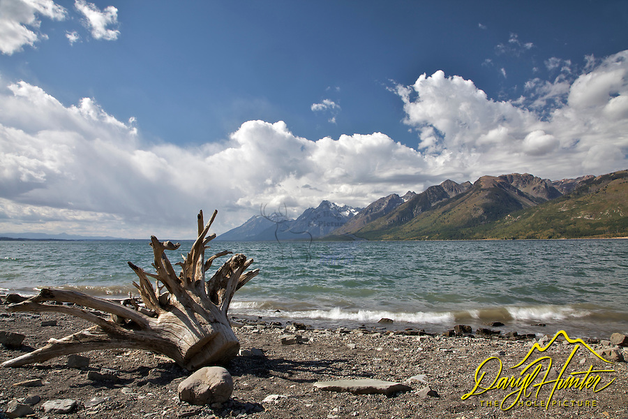 Stormy Day, Jackson Lake, Grand Tetons, Grand Teton National Park