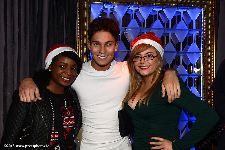 Star of THe Only Way Is Essex and I'm A Celebebrity Get Me Out Of Here Joey Essex pictured on his visit to Earth Night Club Drogheda. Photo:Colin Bell/pressphotos.ie