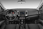 Straight dashboard view of a 2007 - 2012 Citroen C-CROSSER Exclusive  SUV 4WD