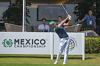 Rafael Cabrera Bello (ESP) watches his tee shot on 10 during round 1 of the World Golf Championships, Mexico, Club De Golf Chapultepec, Mexico City, Mexico. 3/1/2018.<br /> Picture: Golffile | Ken Murray<br /> <br /> <br /> All photo usage must carry mandatory copyright credit (&copy; Golffile | Ken Murray)