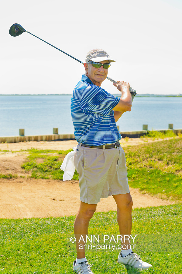 NOTE: Not sure of spelling of Mike's Name: Oceanside, New York, USA. 2nd August 2013. MIKE GENKO is golfing at South Bay Country Club.<br /> | You/Your Property in photo? Mention that when you use CONTACT page: http://ann-parry.photoshelter.com/contact