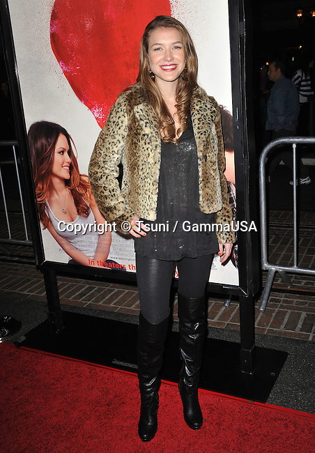 Waiting For Forever Premiere at the Grove Theatre In Los Angeles.<br /> Nathalia Ramos