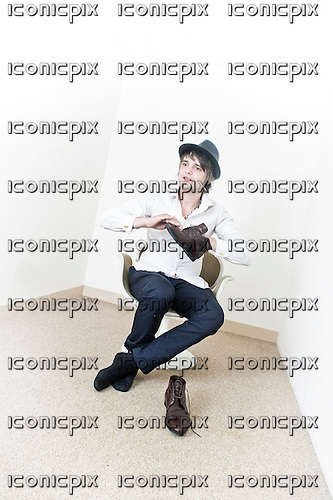 BABYSHAMBLES<br />  - Pete Doherty  - Photosession in Paris France -  28 Aug 2013.  Photo <br /> Credit : William Beaucardet/Dalle/IconicPix