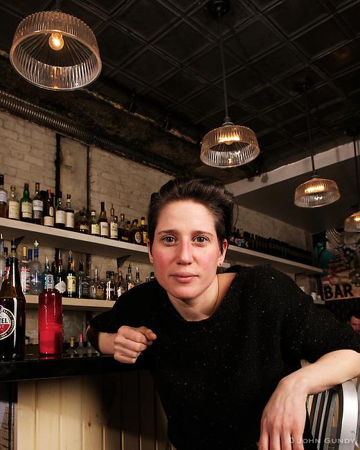 Niki Tsourounakis, Bar Neon, 1226 Bloor St. W., 647-748-6366, @Bar_Neon