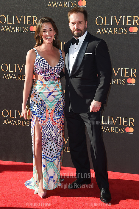 Alfie Boe &amp; Sarah Boe at The Olivier Awards 2017 at the Royal Albert Hall, London, UK. <br /> 09 April  2017<br /> Picture: Steve Vas/Featureflash/SilverHub 0208 004 5359 sales@silverhubmedia.com