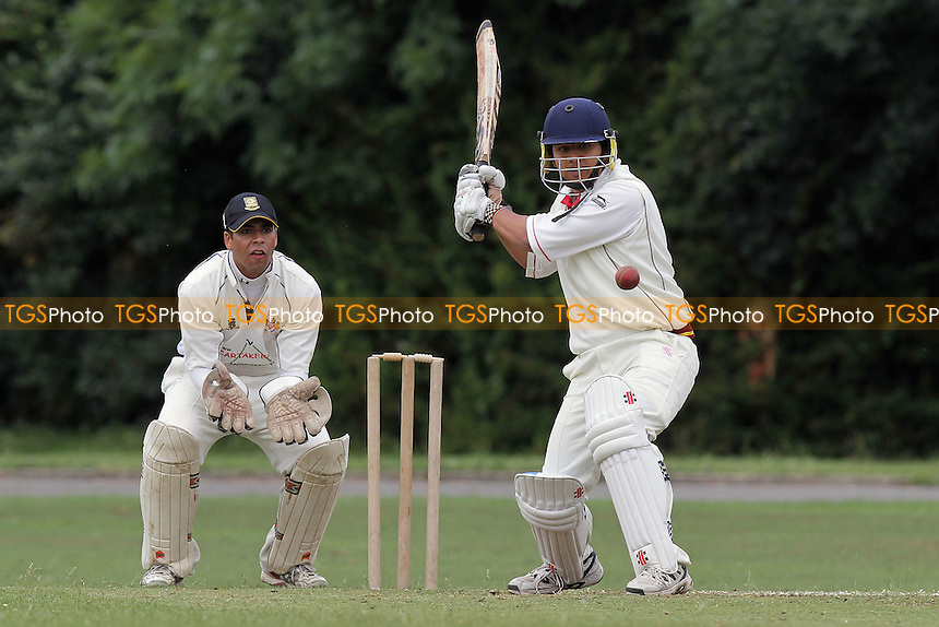 Hornchurch Athletic CC (fielding) vs Barking CC - Essex Cricket League - 09/07/11 - MANDATORY CREDIT: Gavin Ellis/TGSPHOTO - Self billing applies where appropriate - Tel: 0845 094 6026 - contact@tgsphoto.co.uk