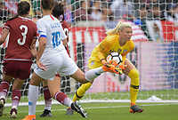 Houston, TX - Sunday April 8, 2018: Jane Campbell during an International friendly match versus the women's National teams of the United States (USA) and Mexico (MEX) at BBVA Compass Stadium.