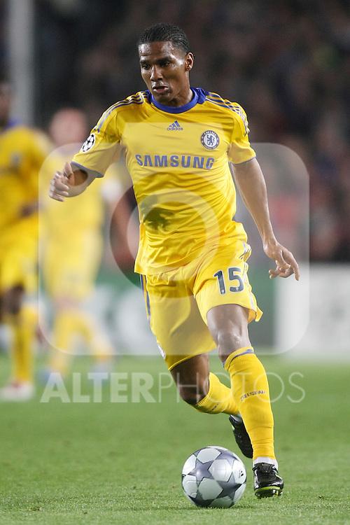 Chelsea's Florent Malouda during the UEFA Champions League match.April 28 2009. (ALTERPHOTOS/Acero).