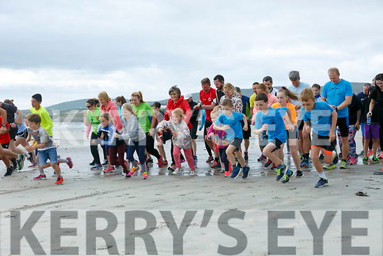 Ballyheigue Summer Festival King of the Beach Run on Monday