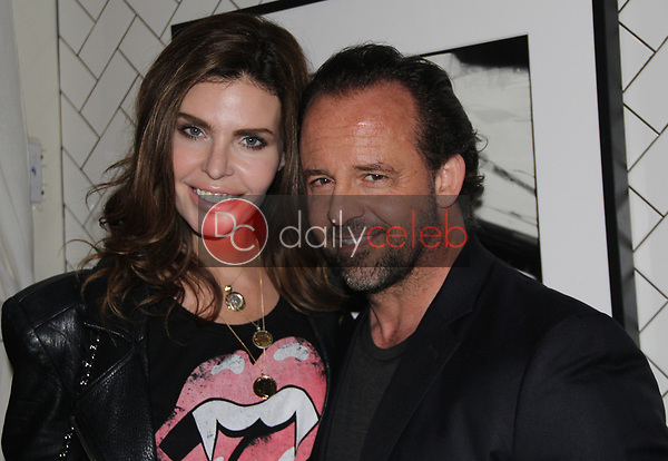 """Julia Lescova, Thomas Connelly<br /> at the """"Struggleing"""" For Your Consideration event hosted by A. Whole Productions and Brent Harvey Films, Crossroads Kitchen, Los Angeles, CA 06-06-18<br /> David Edwards/DailyCeleb.com 818-249-4998"""