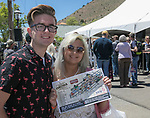 Jared Miller and Sherry Nash from Fallon during the Taste of the Comstock in Virginia City on Saturday, June 10, 2017.