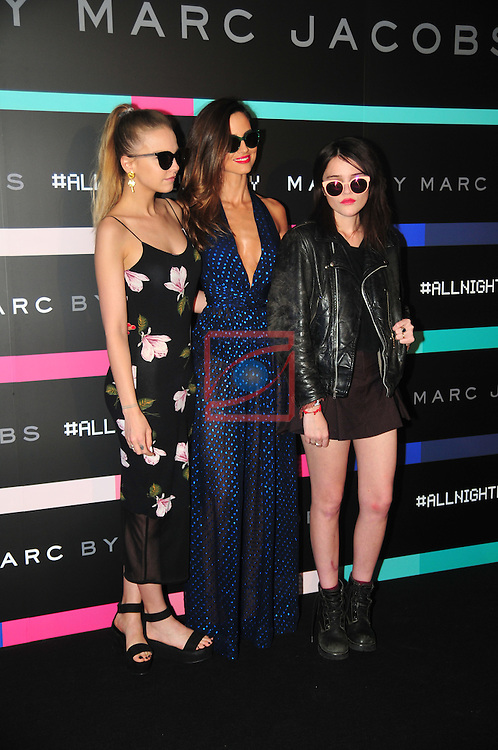 Marc by Marc Jacobs Eyewear.<br /> Inauguration Party in the Barcelona History Museum.<br /> Laura Hayden, Ariadne Artiles &amp; Sky Ferreira.