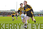 Colm Cooper Dr Crokes v James Morgan Crossmaglen Rangers in the All Ireland Club Senior Football Championship Semi-Final, at O'Moore Park, Portlaoise on Saturday 18/2/2012