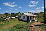 A farmhouse with laundry drying outside Vinales, Cuba
