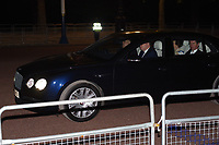 Prince Andres, Princess Anne, Timothy Laurence<br /> Presidential car leaves Buckingham Palace after State Banquet for President Trump.  <br /> London, England on June 04, 2019<br /> CAP/SDL<br /> ©Stephen Loftus/Capital Pictures