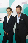 Guiding Light Kevin Bacon and James Purefoy star in Fox's The Following and appear at The Fox 2012 Programming Presentation on May 14, 2012 at Wollman Rink, Central Park, New York City, New York. (Photo by Sue Coflin/Max Photos) 917-647-8403