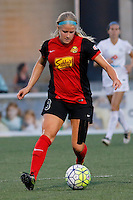 Rochester, NY - Saturday July 23, 2016: Western New York Flash midfielder Makenzy Doniak (3) during a regular season National Women's Soccer League (NWSL) match between the Western New York Flash and FC Kansas City at Rochester Rhinos Stadium.