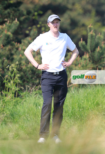 Eugene Smith (Laytown &amp; Bettystown) on the 7th tee during Round 1 of the Lytham Trophy on Saturday 5th May 2018.<br /> Picture:  Thos Caffrey / www.golffile.ie<br /> <br /> All photo usage must carry mandatory copyright credit (&copy; Golffile | Thos Caffrey)