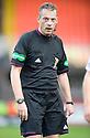 Referee Iain Brines    ...