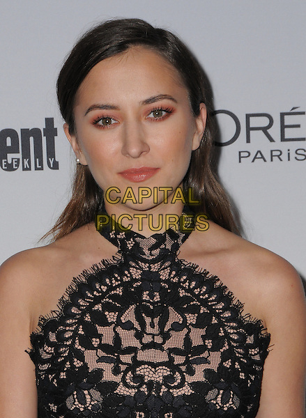 16 September 2016 - West Hollywood, California. Zelda Williams. 2016 Entertainment Weekly Pre-Emmy Party held at Nightingale Plaza. <br /> CAP/ADM/BT<br /> &copy;BT/ADM/Capital Pictures