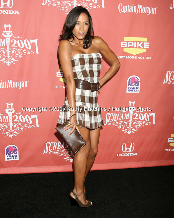 "Dania Ramirez.Spike TV's ""Scream 2007"" Awards.The Greek Theater.Los Angeles,  CA.October 19, 2007.©2007 Kathy Hutchins / Hutchins Photo...               ."