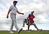 Cameron Smith, left, walks from the 17th green to the 18th tee during the first round of the U.S. Open Championship at Shinnecock Hills Golf Club in Southampton on Thursday, June 14, 2018.