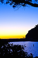 Dana Point Harbor Silhouette