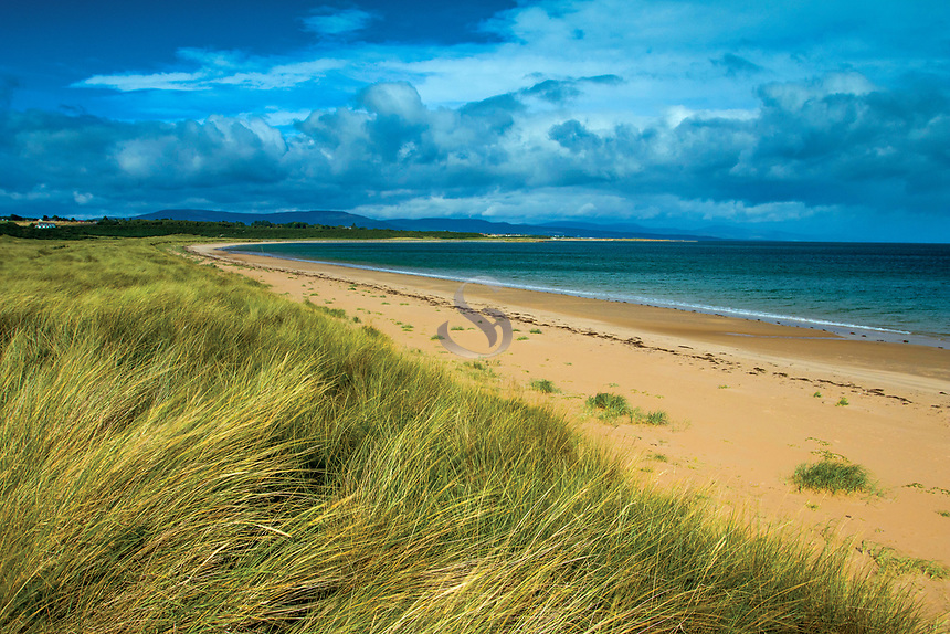 The beautiful Dornoch Beach, Dornoch, Sutherland